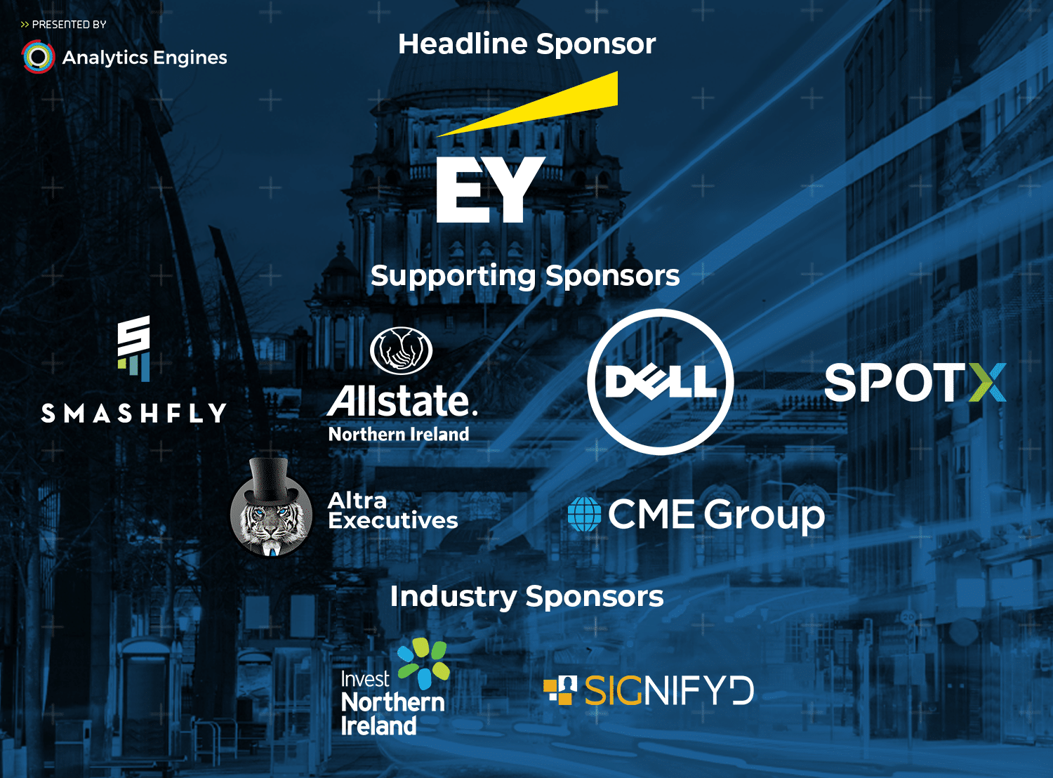 Big Data Belfast Sponsors | Analytics Engines