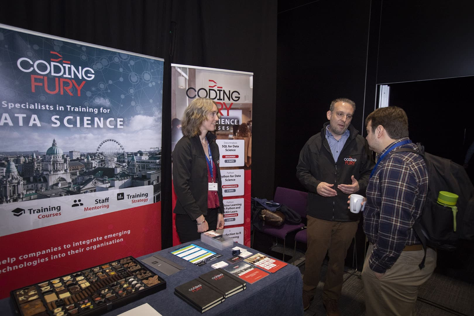 Coding Fury at Big Data Belfast 2019 | Analytics Engines
